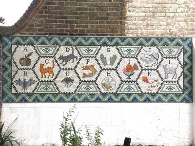 Mosaic Tessa Hunkin Hackney project